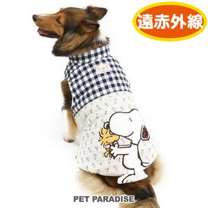 日本PET PARADISE 宠物狗狗猫猫服饰SNOOPY系列冬款加保暖棉服