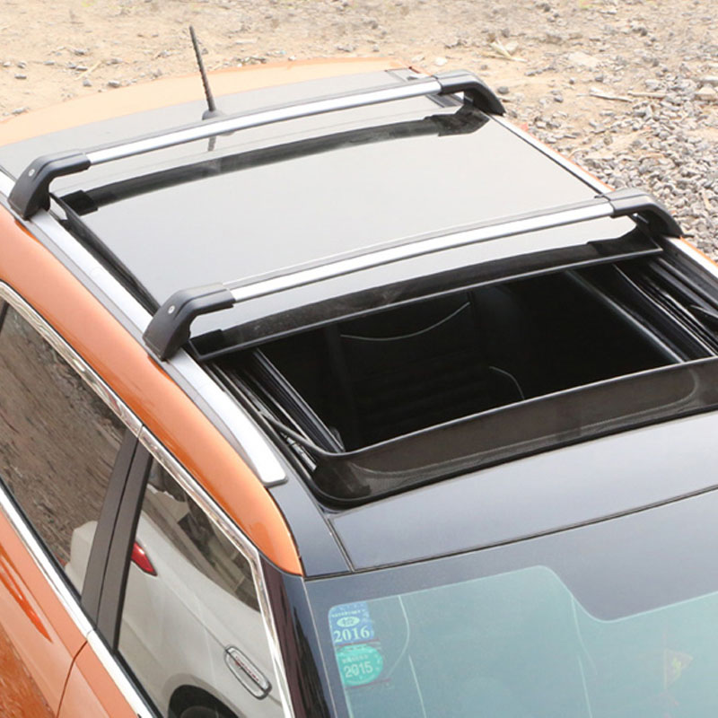 Aluminium Roof Rack Cross Bar Trim For BMW X1 10-16 X3 04