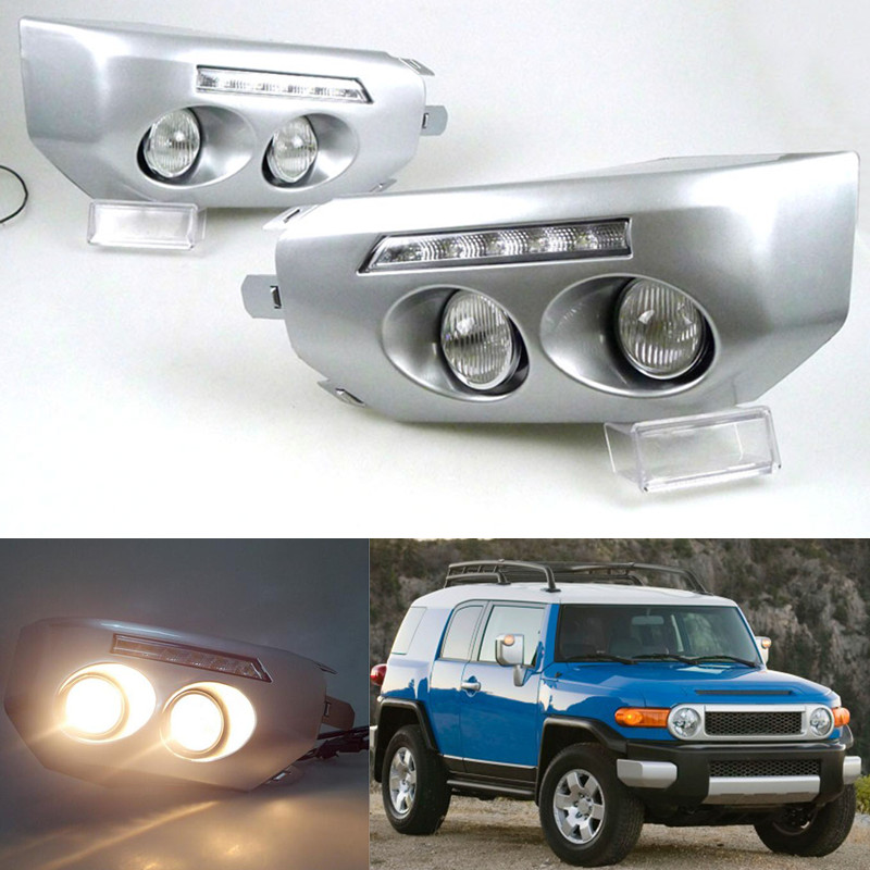 2007 14 For Toyota Fj Cruiser Car Daytime Running Light