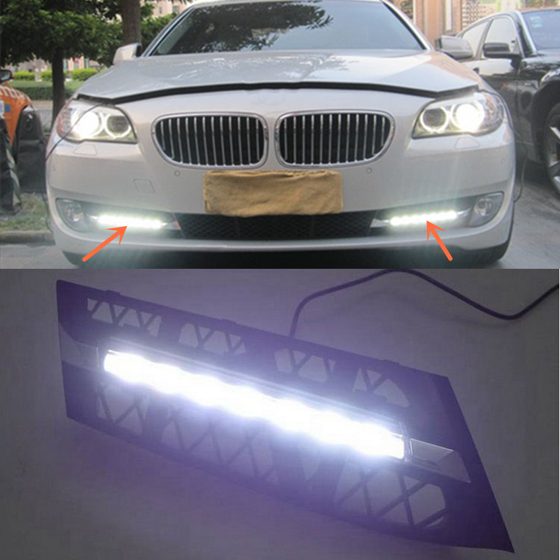 For BMW 5GT Series LED Daytime Running Lamp DRL Driving Light 2010-2013