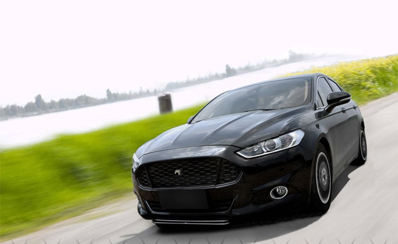 Black Ford Fusion >> For Ford Fusion Mondeo 2013 2016 Black Front Grille Replace Trim