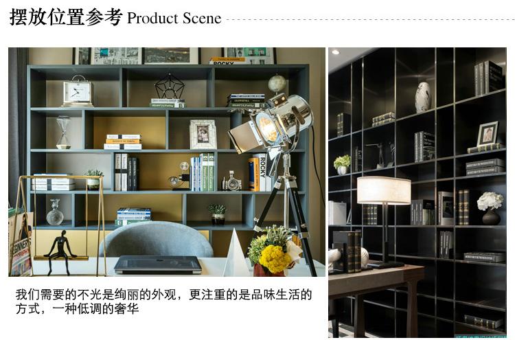 〖洋碼頭〗簡歐式簡約現代樣板房樣板間家居軟裝飾品亞克力創意個性相框擺臺 jwn119