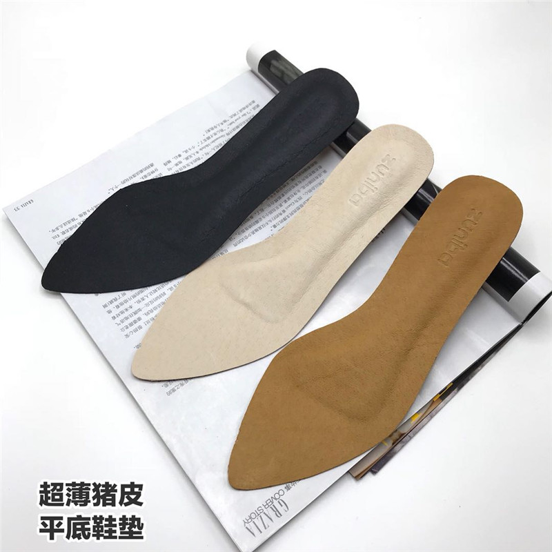 Pigskin Women S Shoes Boots Ultra Thin Breathable Sweat Stereotypes Activities Insoles Casual Flat Non