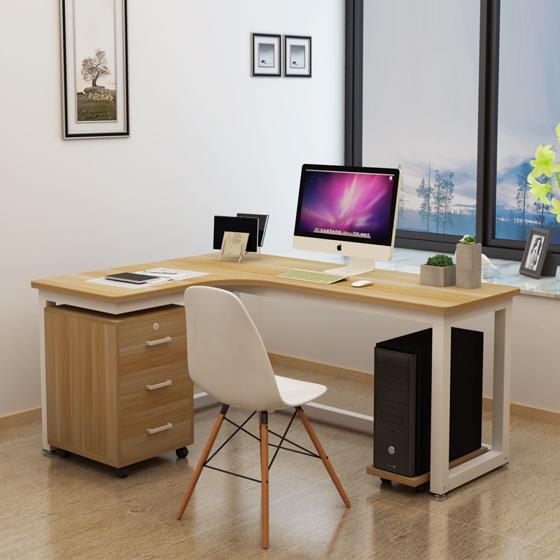 Simple Modern Corner Computer Desk Desktop Home 1 2 M Adult Writing