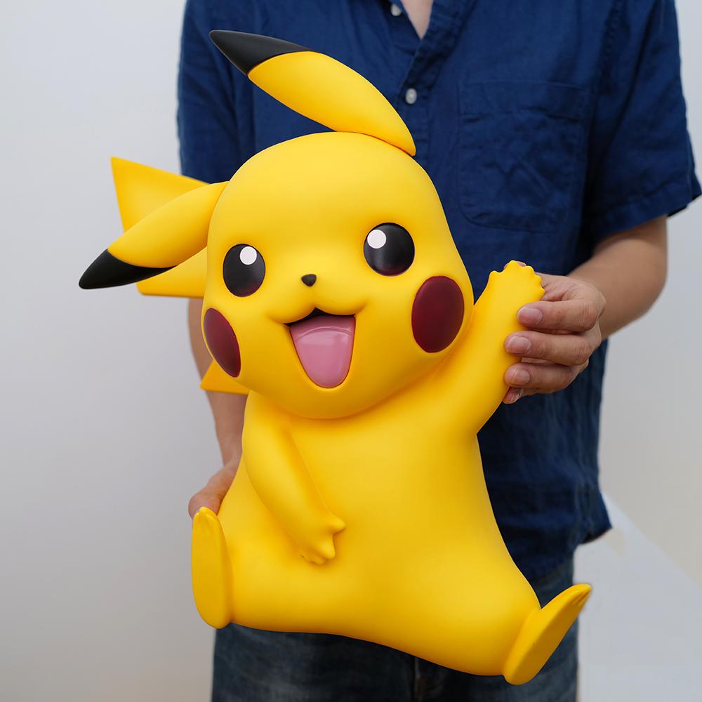 Pikachu tay làm 1: 1 elf Pokemon búp bê đồ chơi quà tặng sinh nhật quà tặng kho báu màu đỏ có thể mơ - Capsule Đồ chơi / Búp bê / BJD / Đồ chơi binh sĩ