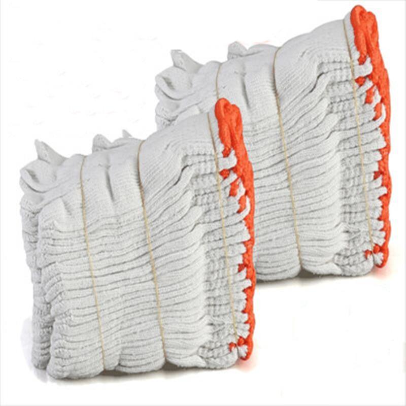 劳保手套耐磨线手套尼龙手套防滑优质干活工