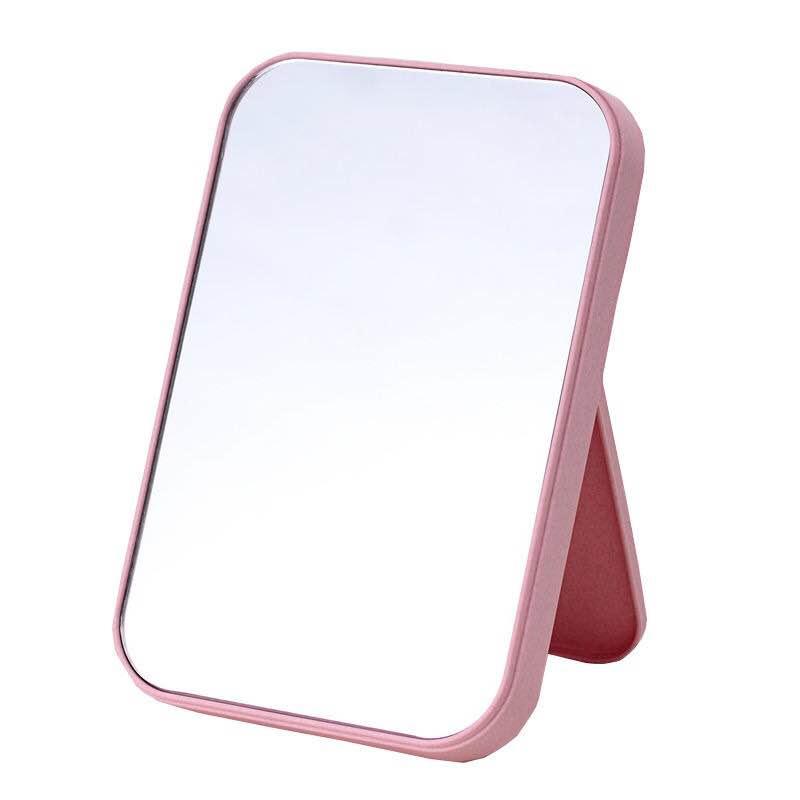 【买一送5】折叠化妆镜子北欧粉可爱网红浴室镜可折叠ins风小镜子