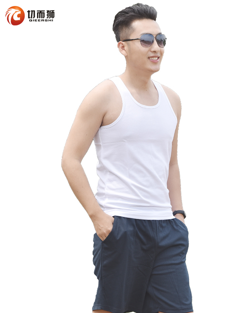 Genuine 07 white vest male summer white sleeveless Army fans quick-drying vest fitness vest vest vest vest
