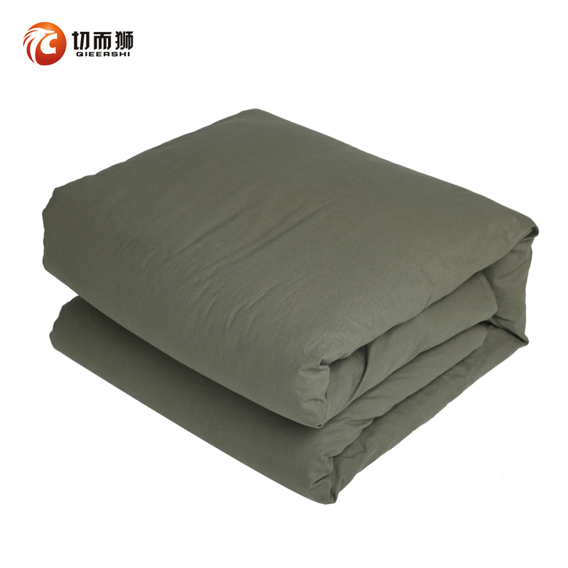 Military by the army green quilt mule student son cotton is migrant workers 04 pillow mattress sub-military training was
