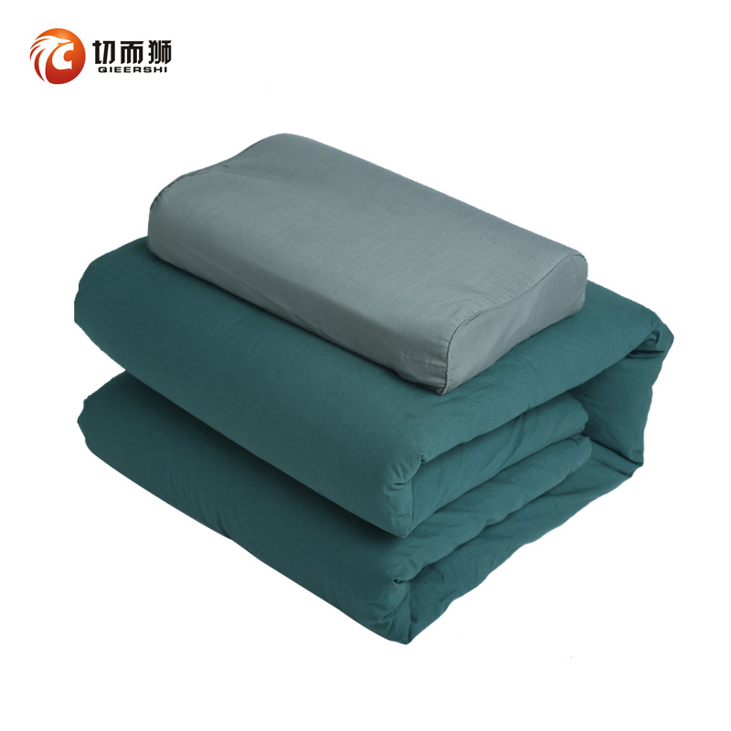 Authentic hot melt cotton army is removable olive green military training quilt sea blue 01 army green cotton quilt
