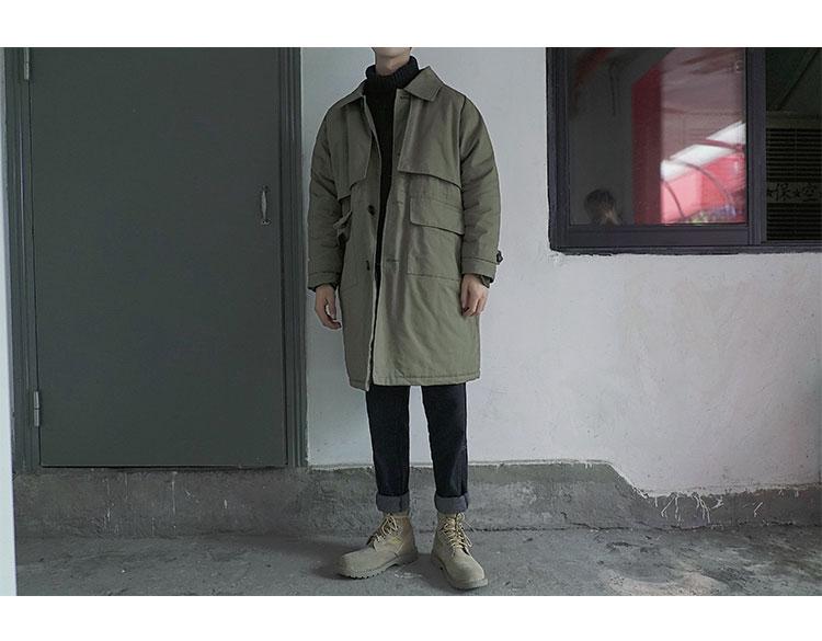 冬/中长款/工装棉衣/ A360-W344-P145 控价188