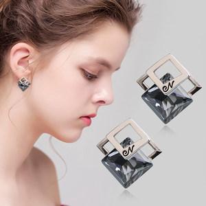 耳钉女欧美简约清新新款气质韩国个性无耳洞耳环潮人耳饰耳夹