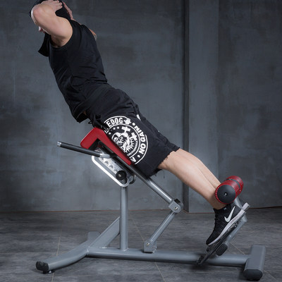 Yulong Commercial Roman Chair Roman Stool Fitness Chair Back Stretch Exerciser Waist Abdominal Muscle Trainer