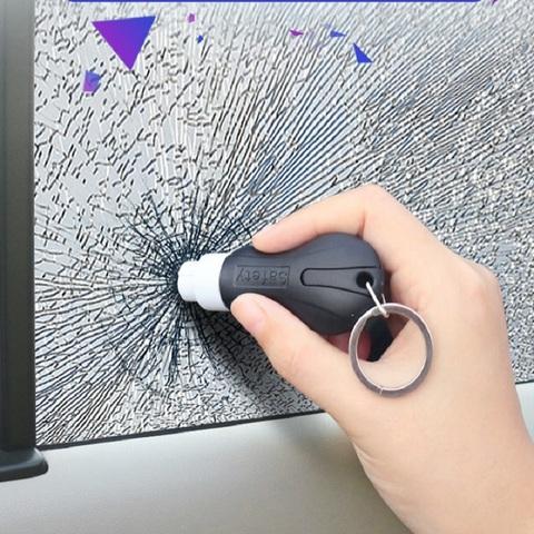 汽车安全锤破窗器撞针逃生锤砸玻璃破窗神器车载多功能瞬割救生锤