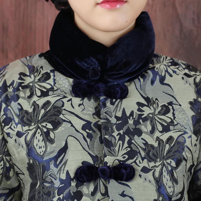 Блузка в китайском национальном стиле 2371