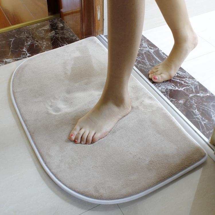Màu sắc tốt sàn phòng tắm mat phòng tắm mat phòng ngủ nhà bếp hút cửa mat cửa lối vào pad giá trị 2 miếng