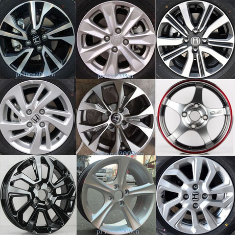 14 Inch 15 Inch 16 Inch 17 Honda New Fit Front Fan Gerui Original Change Concept 18 Old Aluminum Alloy Wheels Rs