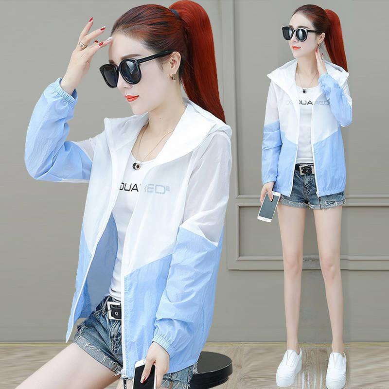 夏季防晒衣女大码防紫外线韩版薄款外套