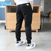 Children's clothing boy pants spring and autumn models 2018 new children's sports pants thin casual children spring long pants tide