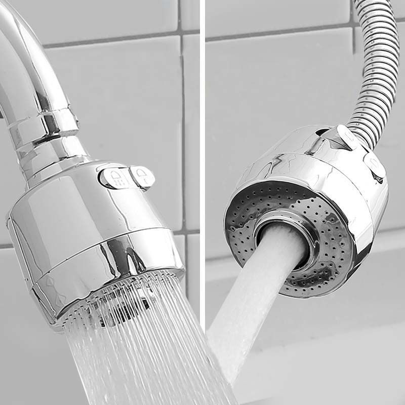 Tap anti-splash water spray stainless steel kitchen home filter can be universal rotating nozzle water saving