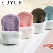 【4双9.9】女彩棉袜秋冬百搭中筒雪地袜