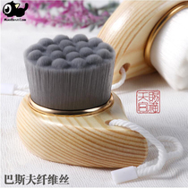Manual bamboo Charcoal Face Brush Cleanser still cat to black head clean pores