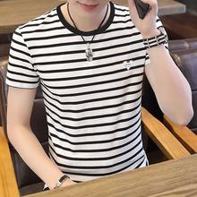 【夏季新款】条纹POLO衫短袖