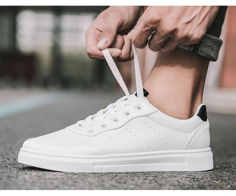 双星 2021男女白色板鞋 图12