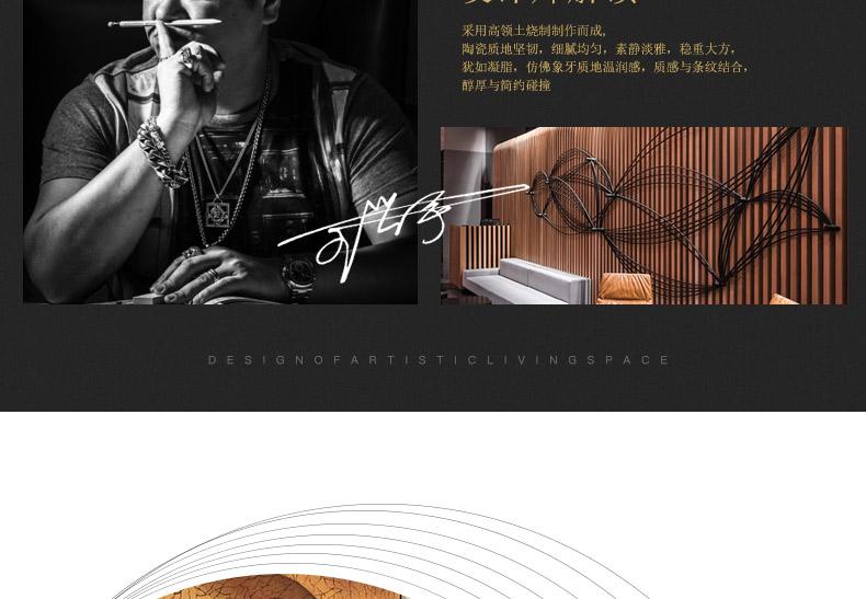 新中式金色轻奢陶瓷储物罐软装饰品酒店别墅隔断柜玄关将军罐摆件