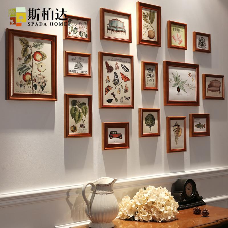 сплошных фото декоративной рамки на стене девушка
