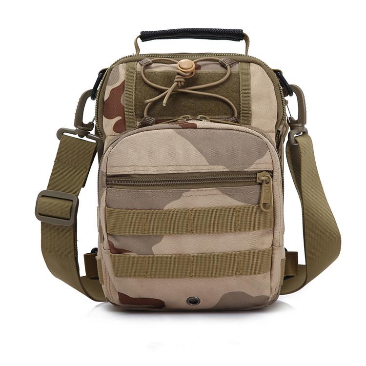 Туристическая сумка Вентиляторы армии тактические груди пакет свободного покроя спорт Велоспорт мессенджер человек мешок открытый камуфляж грудь пакет один плечо рюкзак