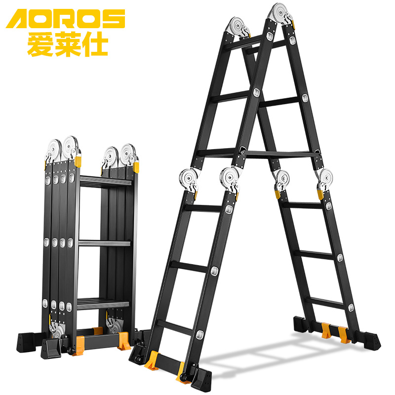 4 4m Frame Telescopic Ladder - Best Ladder 2018