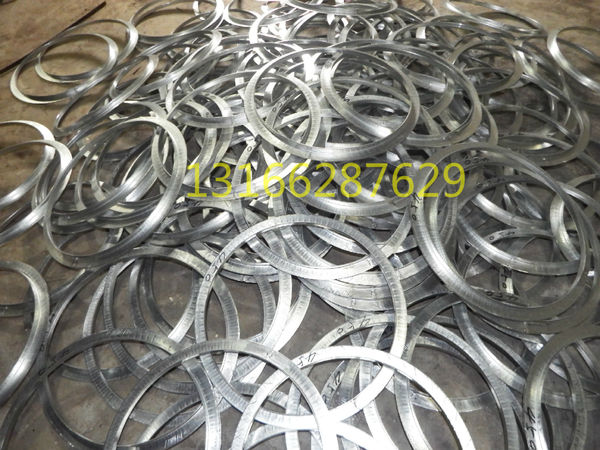 Spiral duct flange galvanized flange steel angle angle 304 stainless steel  punching flange factory direct