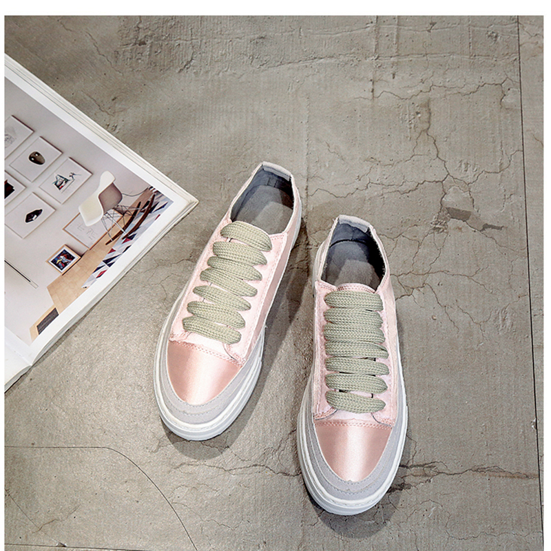 XWWDVV Spain niche shoes casual versatile canvas shoes new thick bottom flat white shoes women 63