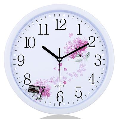 【美时美刻】简约时钟客厅卧室钟表