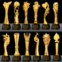 Resin trophy custom creative Trophy company annual awards sports competition
