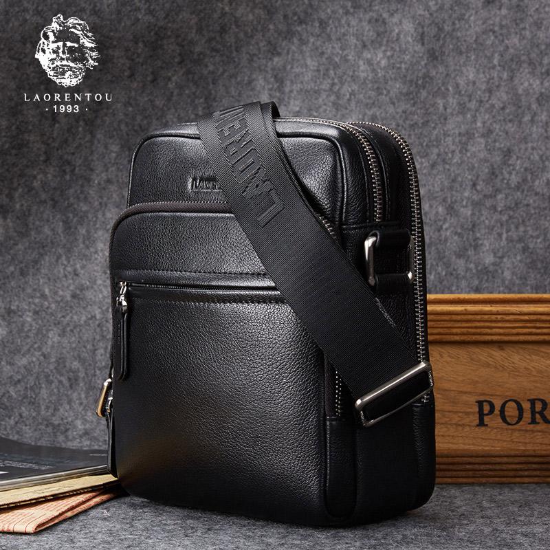 25fc8ca92656 Old head shoulder bag men new men s messenger bag leather men s bag vertical  camera bag business leather small bag