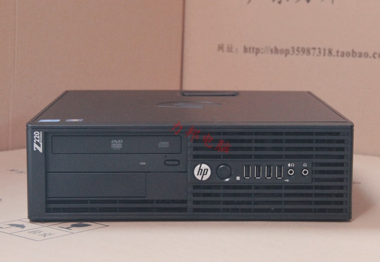 HP z220sff small graphics workstation with E3 processor for graphics gaming  performance