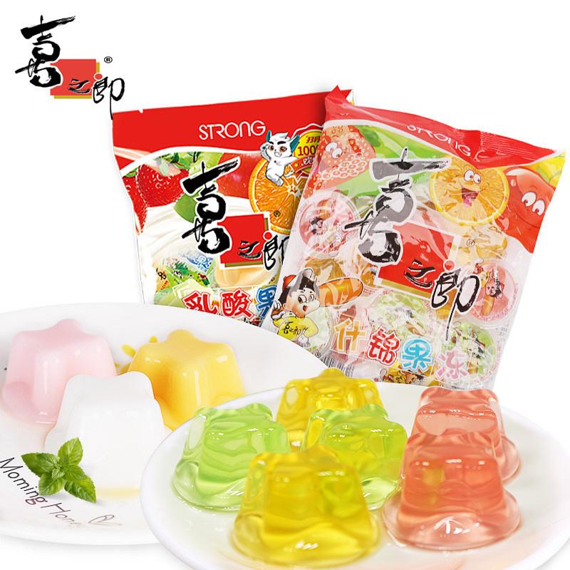【喜之郎】什锦乳酸菌果冻360g*4袋