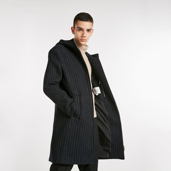 [Poly] JackJones Jack Jones Men's Long Long Coat Woolen Coat 218427522