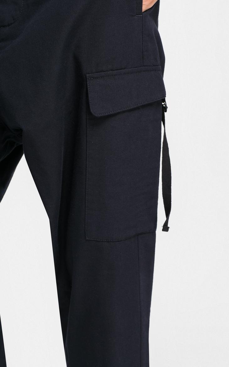 CHỌN Slade bông pha trộn cắt thấp quần cắt quần âu G-416314536