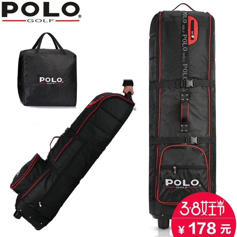 Бесплатная доставка polo аутентичные высокой твой муж авиация пакет сгущаться сумка для гольфа с горкой круглый golf путешествие проверить пакет самолет пакет