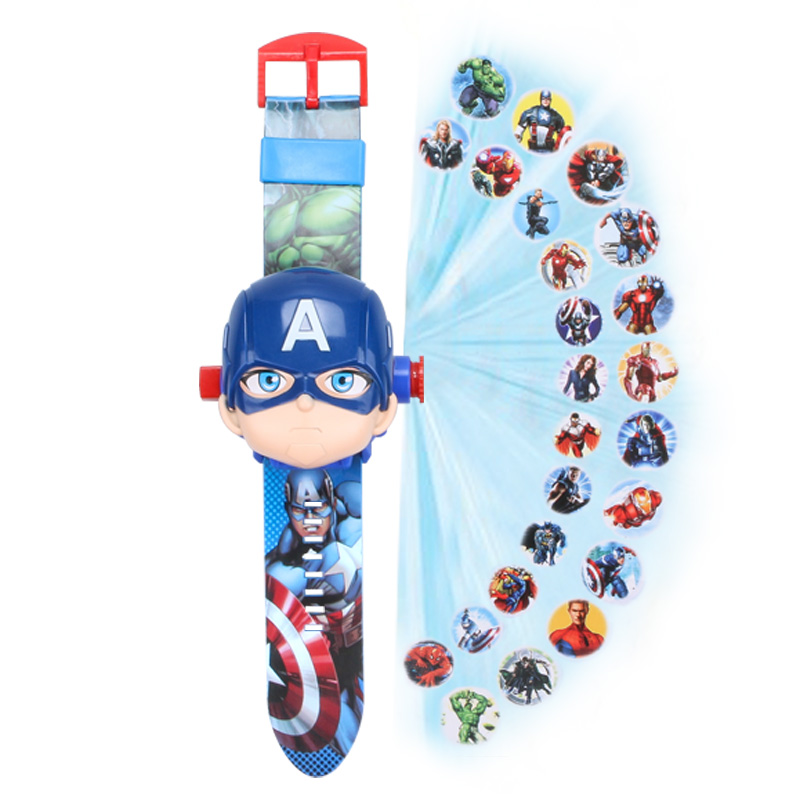 Captain America (flip Watch)