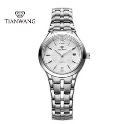 Tian Wang watch female watch genuine small dial waterproof steel band quartz watch casual simple temperament ladies watch 3626