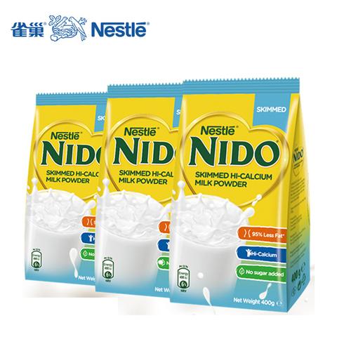 雀巢 NIDO脱脂高钙奶粉400g*3袋