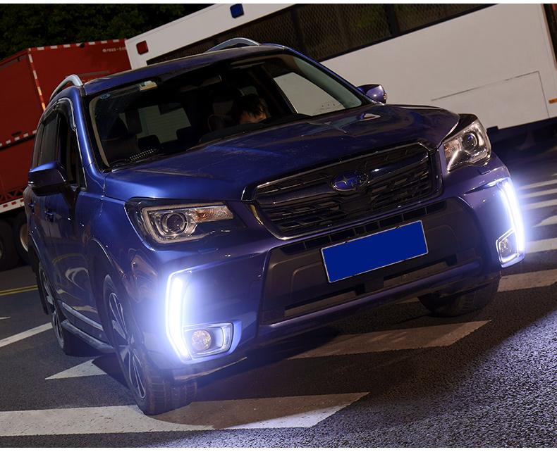 Độ led đèn sương mù Subaru Forester 2013-2018 - ảnh 19