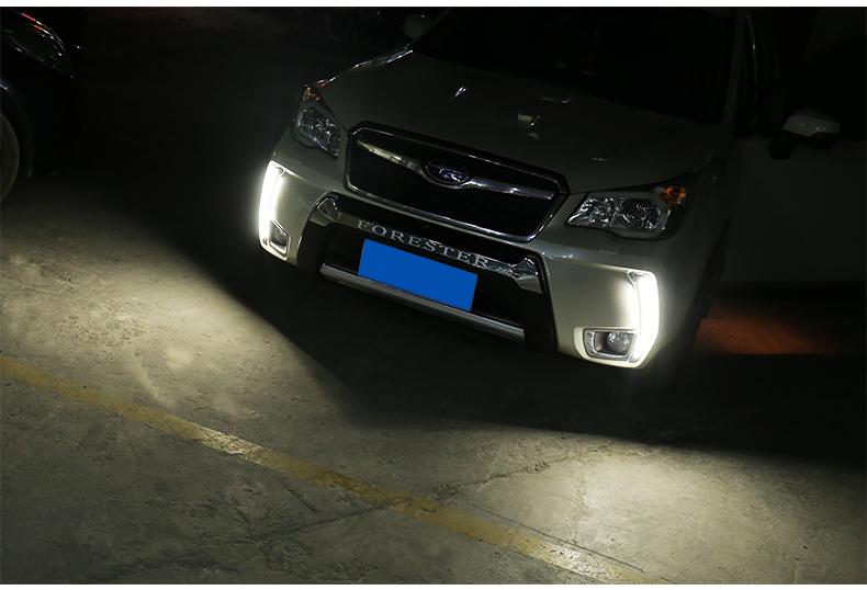 Độ led đèn sương mù Subaru Forester 2013-2018 - ảnh 21