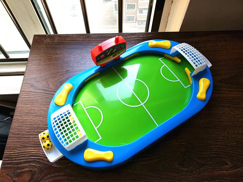 玩具儿童踢足球足球桌上游戏机桌式桌面台v玩具桌式益智对战玩具
