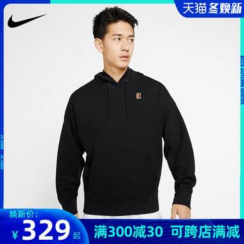 Одежда теннисная,  Nike nike теннис пальто человек осень и зима свитер закрытый с длинными рукавами глава рубашка случайный фитнес движение BV0761, цена 5898 руб