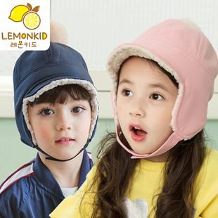 男女童冬季保暖帽毛线帽